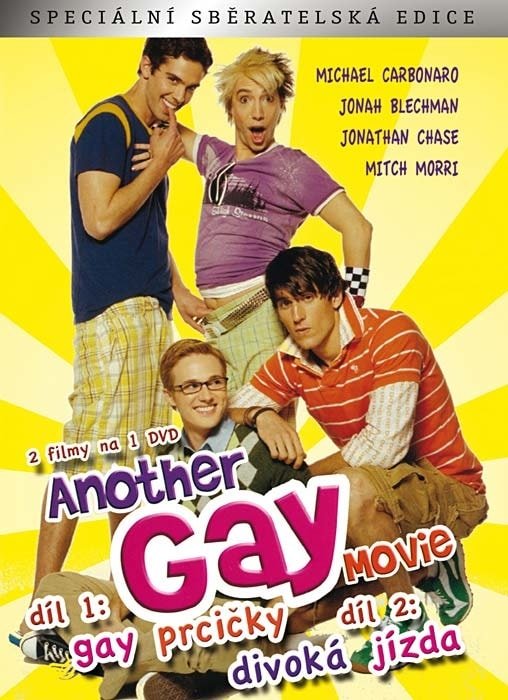 DVD Another Gay Movie: 1 - Gay Prcičky + 2 - Divoká jízda (Digipack)