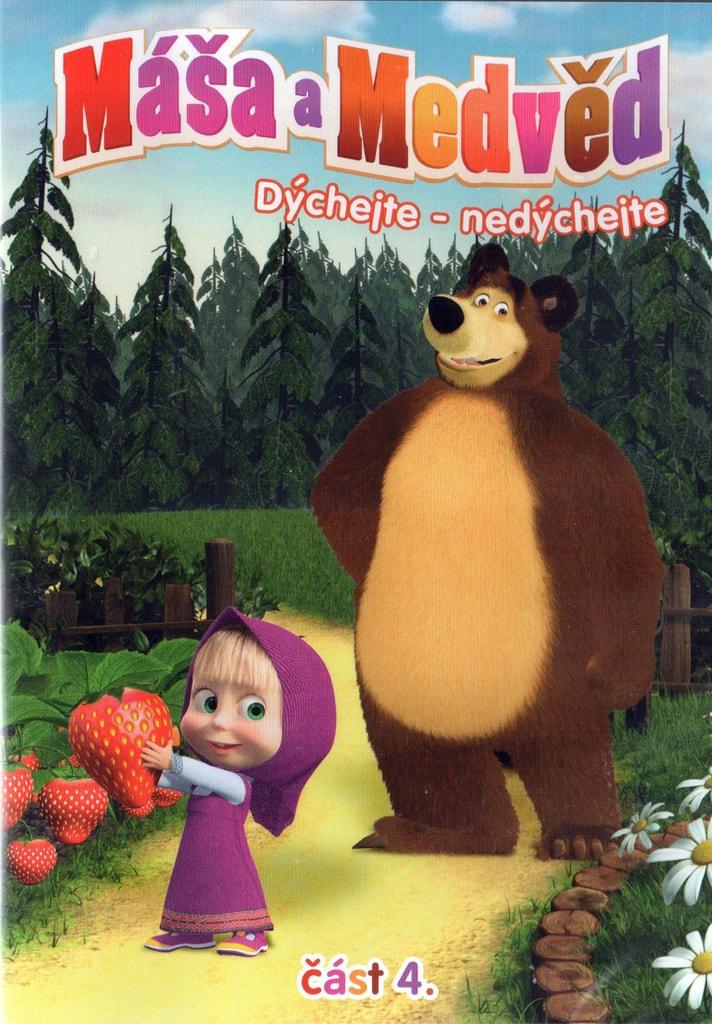 DVD Máša a Medvěd 4 - Dýchejte-nedýchejte