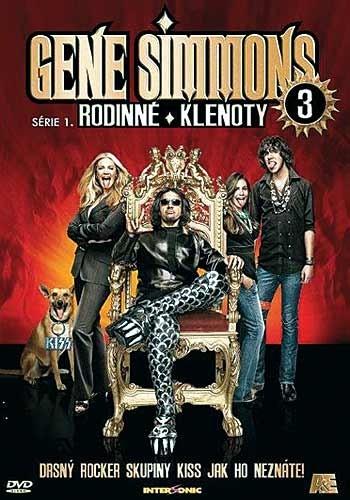 DVD Gene Simmons: Rodinné klenoty 3