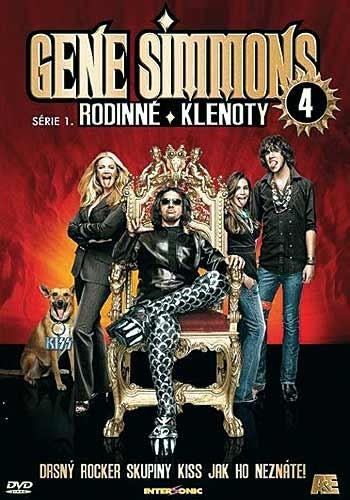 DVD Gene Simmons: Rodinné klenoty 4