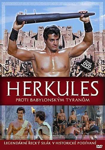 DVD Herkules proti babylonským tyranům
