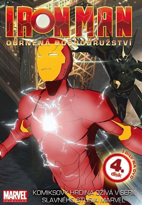 DVD Iron Man 4