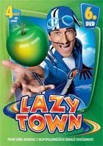 DVD Lazy Town 1. série 6. disk (Slim box)