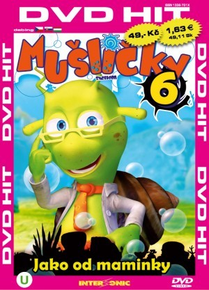 DVD Mušličky 6