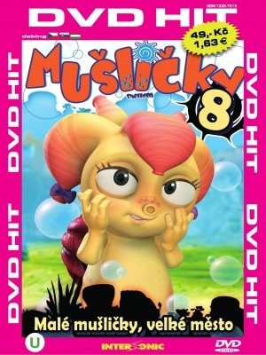 DVD Mušličky 8