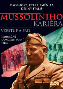 DVD Mussoliniho kariéra (Slim box)