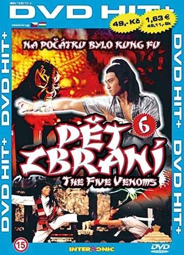 DVD Shaolin 6 P�t zbran�