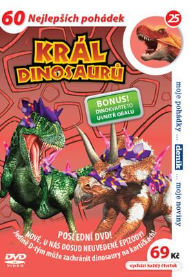 DVD Král dinosaurů 25