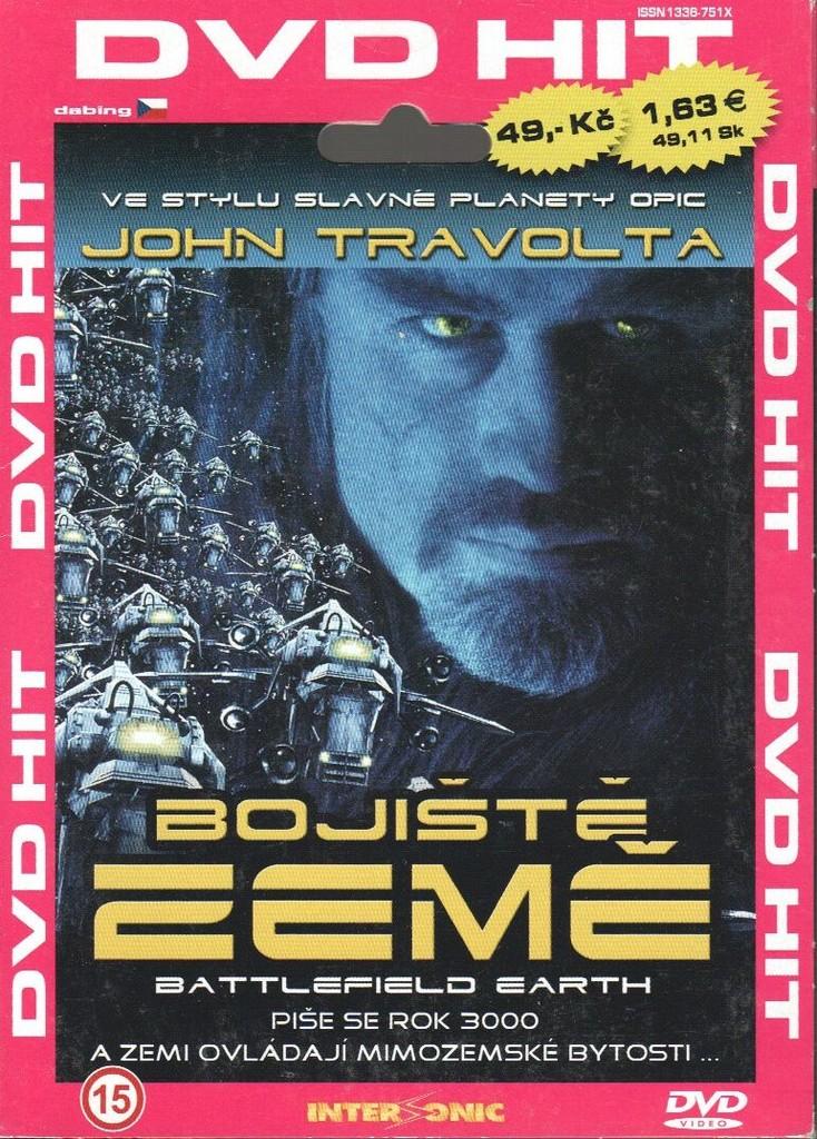 DVD Bojiště Země