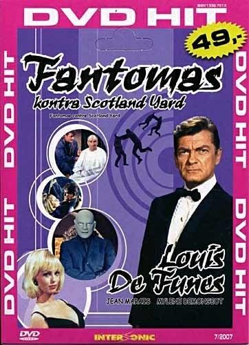 DVD Fantomas kontra Scotland Yard