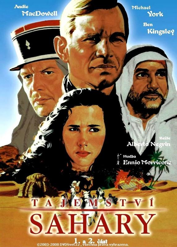 DVD Tajemství Sahary - 1. a 2. část