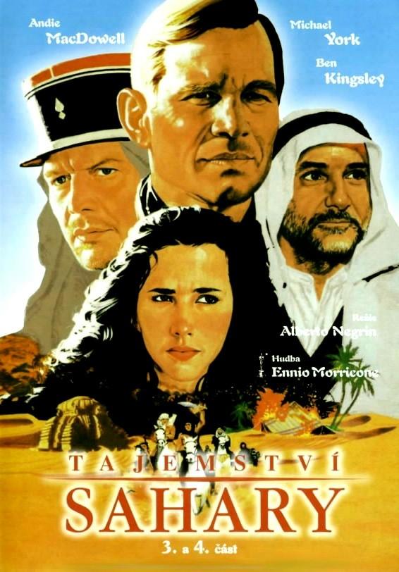 DVD Tajemství Sahary - 3. a 4. část