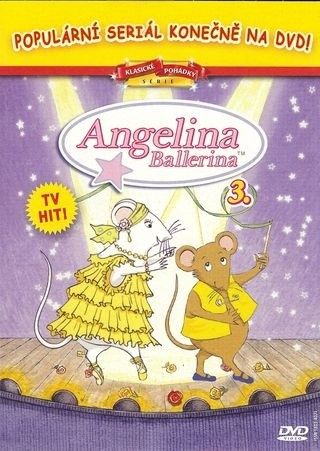 DVD Angelina Ballerina 3