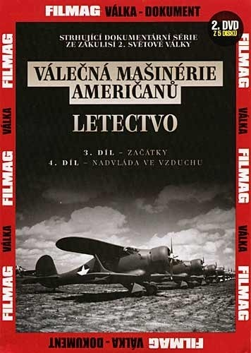 DVD Válečná mašinérie američanů - Letectvo