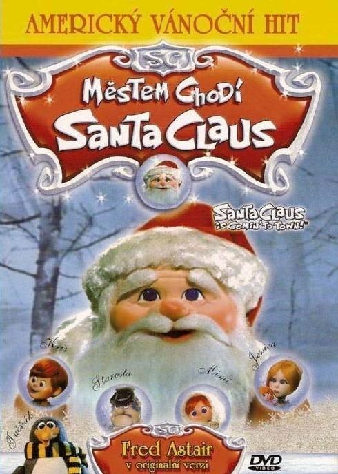 DVD Městem chodí Santa Claus