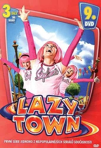 DVD Lazy Town 1. s�rie 9. disk (Slim box)