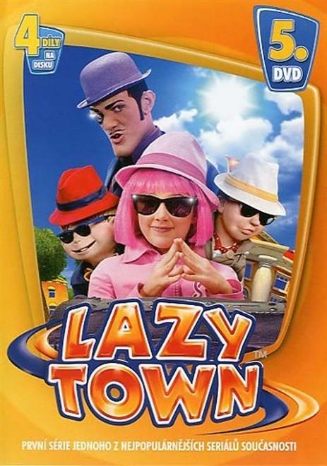 DVD Lazy Town 1. série 5. disk (Slim box)