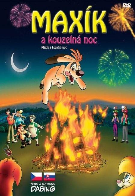 DVD Maxík a kouzelná noc