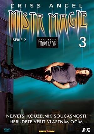 DVD Criss Angel Mistr magie s�rie 2 3