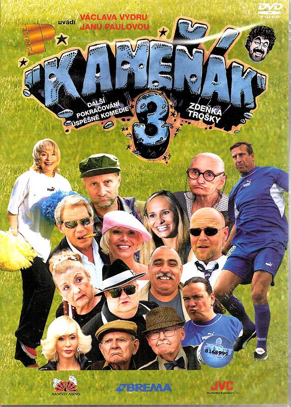 DVD Kameňák 3