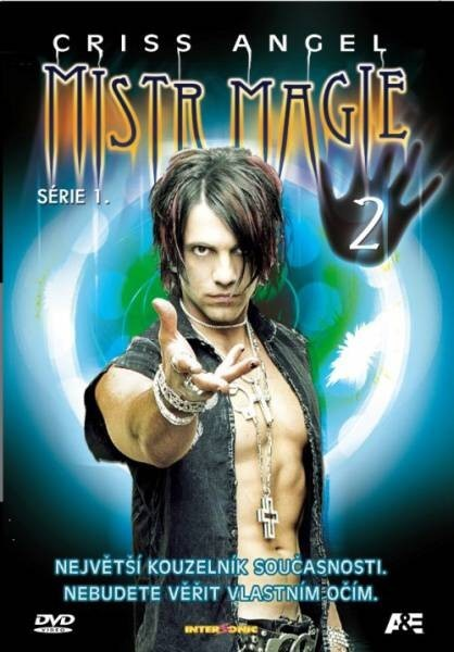DVD Criss Angel Mistr magie série 1 2
