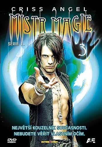 DVD Criss Angel Mistr magie série 1 3