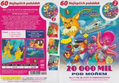 DVD Willy Fog - 20000 mil pod mo�em 2