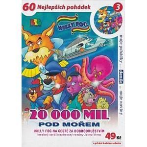 DVD Willy Fog - 20000 mil pod mo�em 3