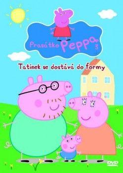 DVD Prasátko Peppa - Tatínek se dostává do formy