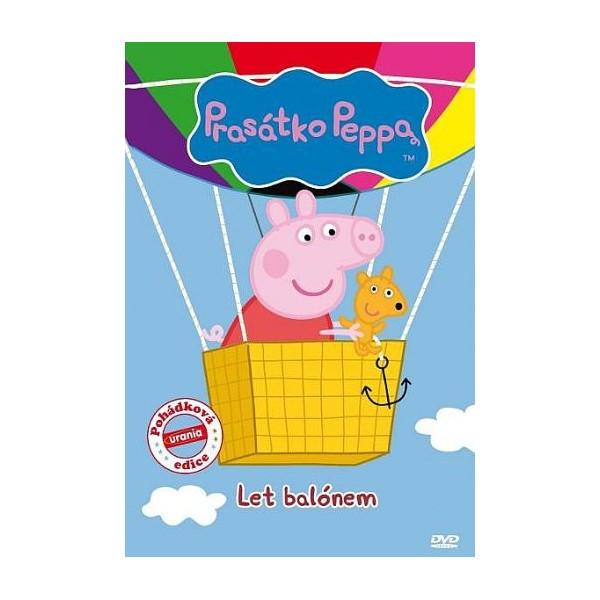 DVD Prasátko Peppa - Let balónem