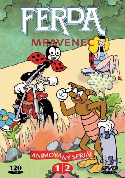 DVD Ferda mravenec 1,2