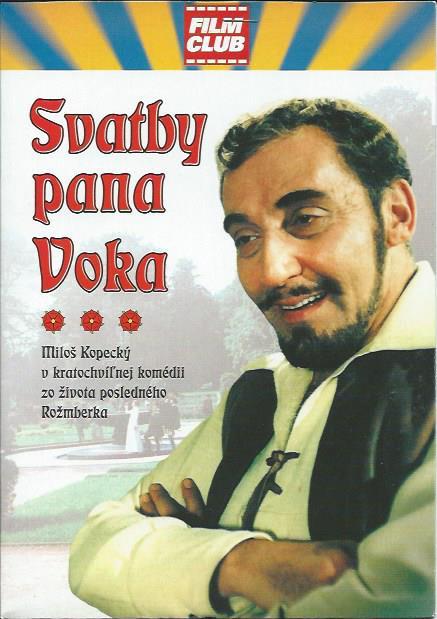 DVD Svatby pana Voka