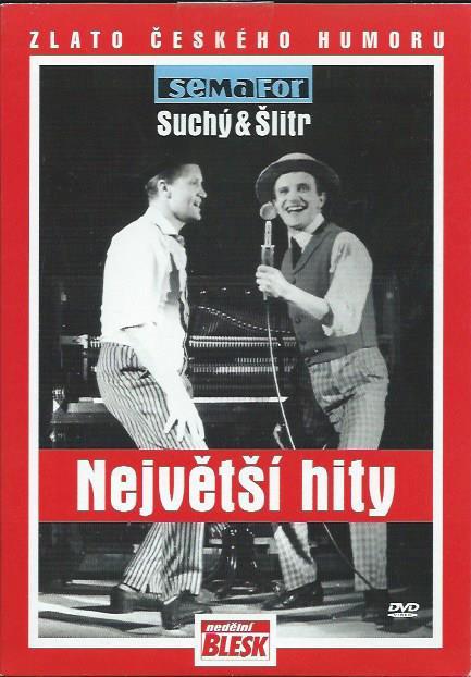 DVD SEMAFOR - Suchý & Šlitr - Největší hity 1