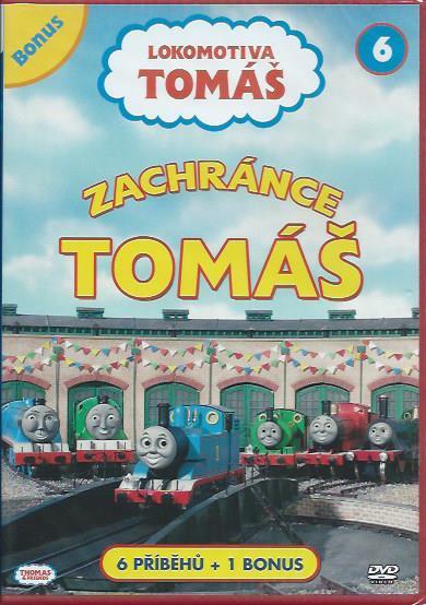 DVD Lokomotiva Tom� 6 - Zachr�nce Tom�