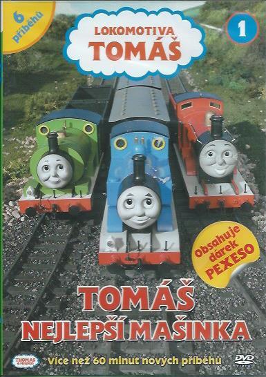 DVD Lokomotiva Tomáš 1 - Tomáš nejlepší mašinka