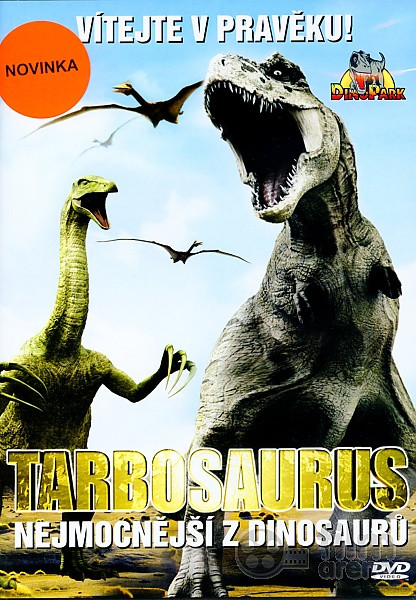 DVD Tarbosaurus - Nejmocnější z dinosaurů