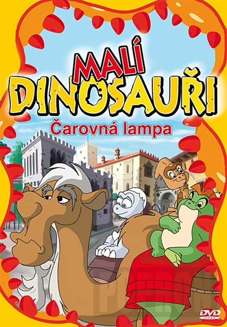 DVD Malí dinosauři - Čarovná lampa
