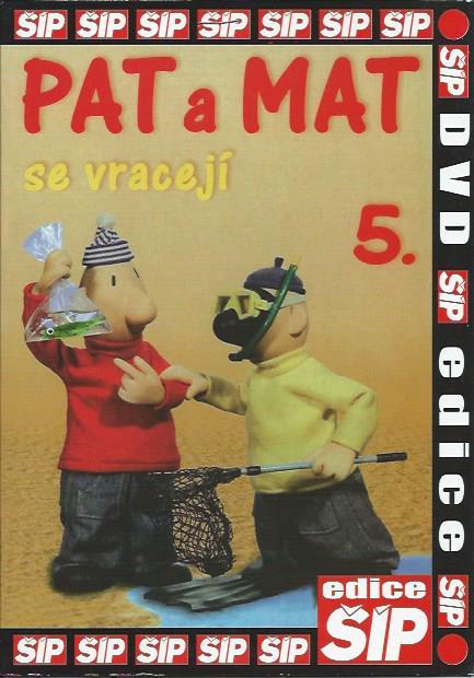 DVD Pat a Mat 5