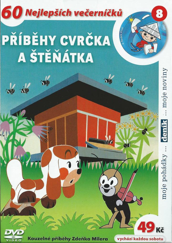 DVD Příběhy cvrčka a štěňátka