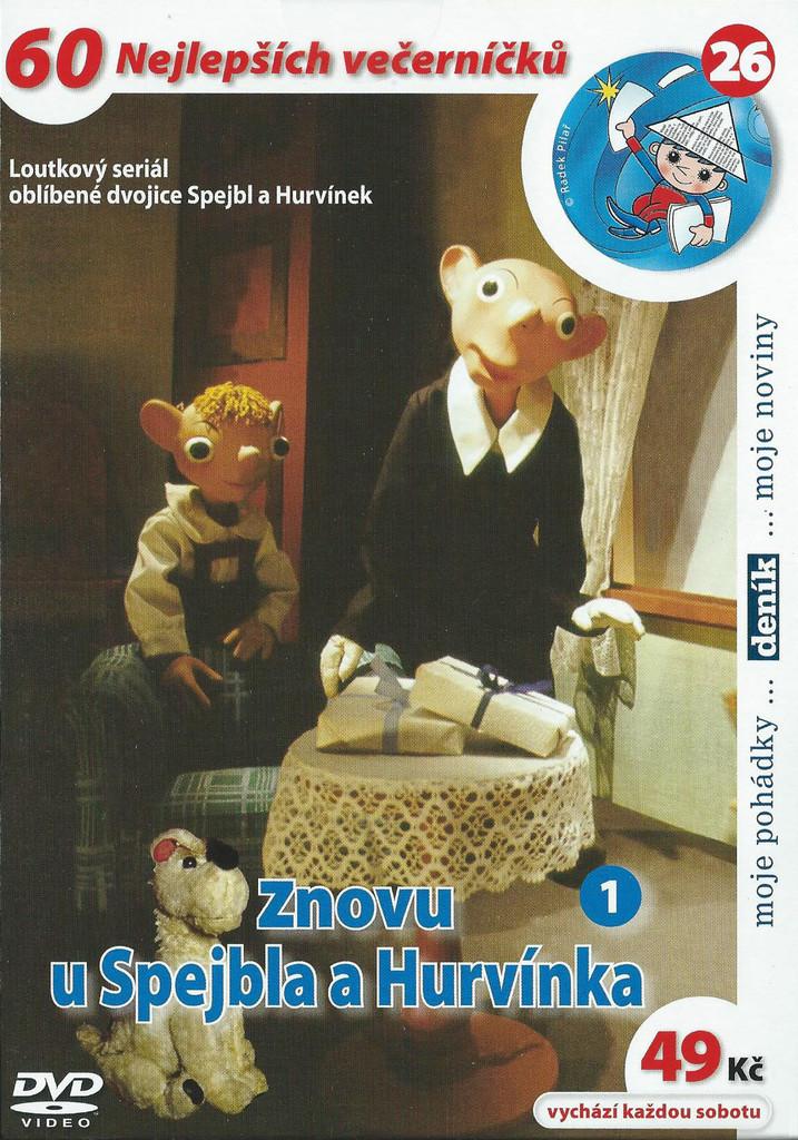 DVD Znovu u Spejbla a Hurvínka 1