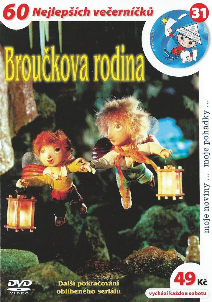 DVD Brou�kova rodina