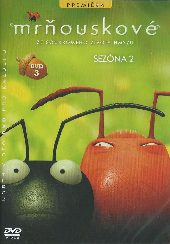 DVD Mrňouskové 3