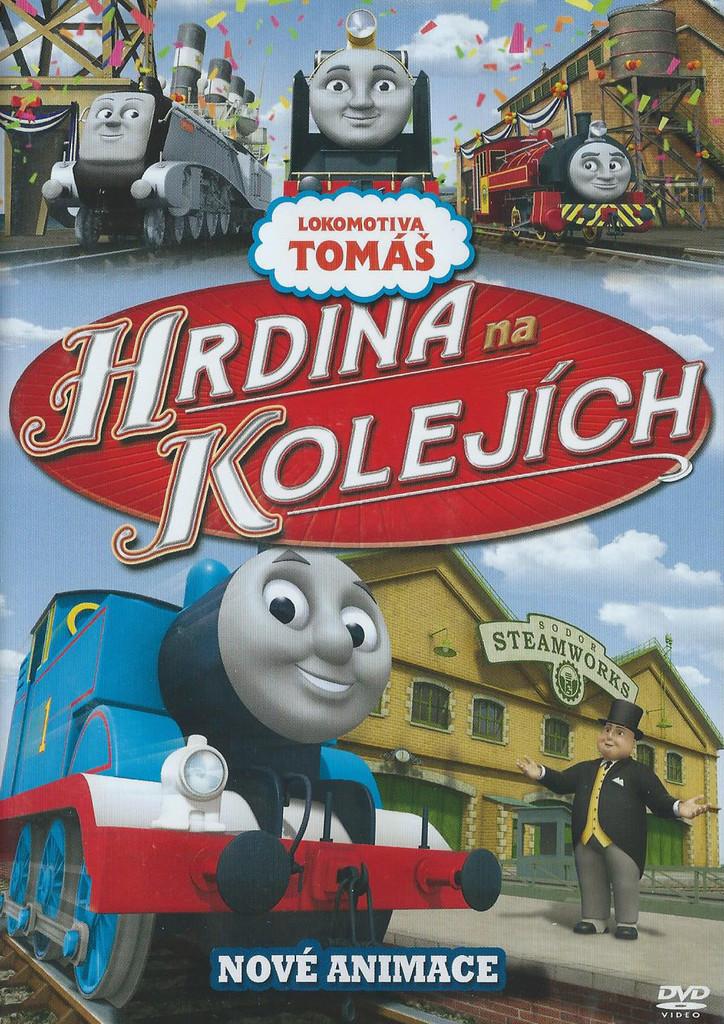 DVD Lokomotiva Tomáš - Hrdina na kolejích