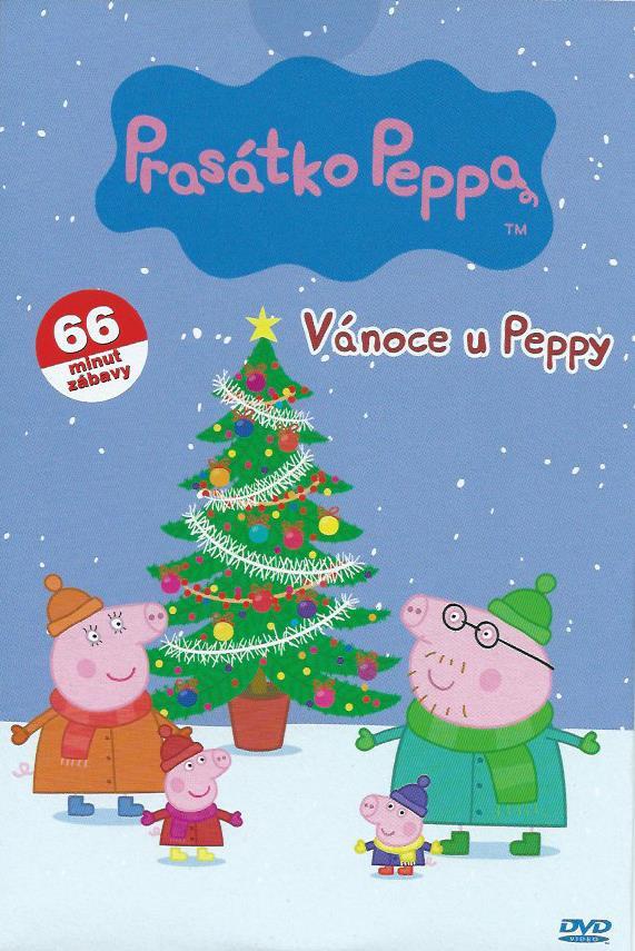 DVD Prasátko Peppa - Vánoce u Peppy