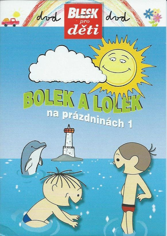 DVD Bolek a Lolek na prázdninách 1