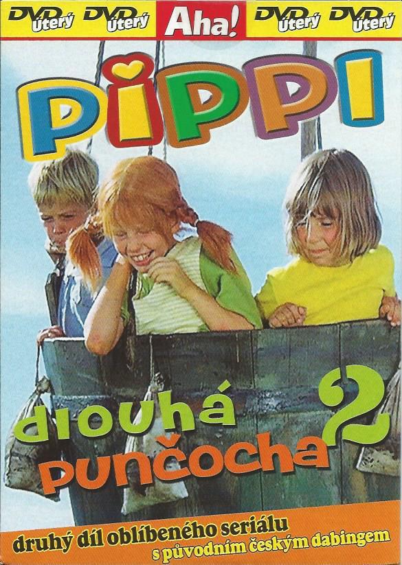 DVD Pippi dlouh� pun�ocha 2