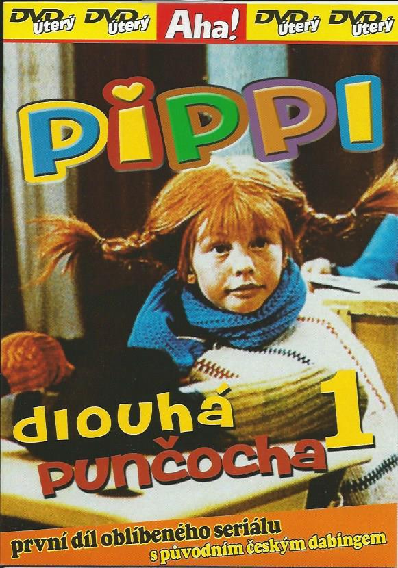DVD Pippi dlouh� pun�ocha 1