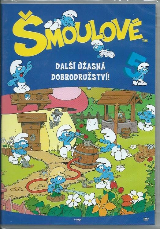 DVD Šmoulové 5