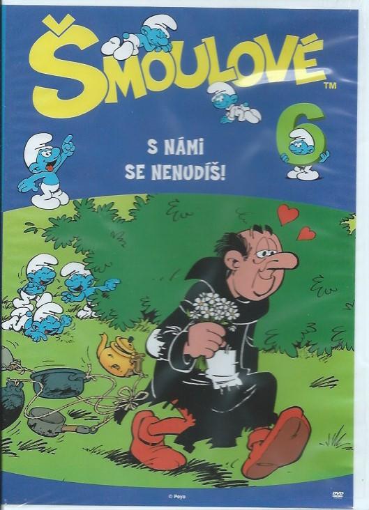 DVD Šmoulové 6