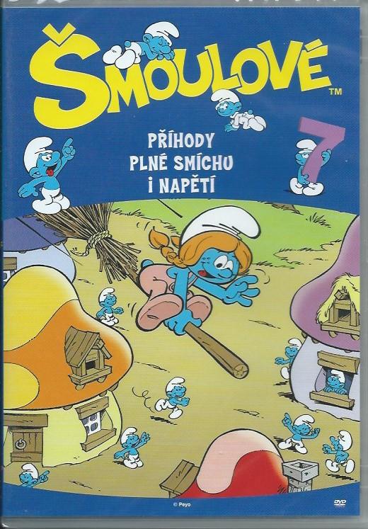 DVD Šmoulové 7
